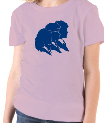 T-shirt silhouetten Harry Potter