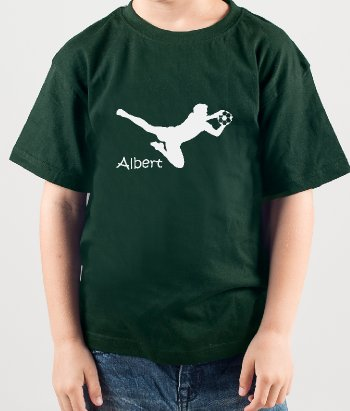 Customisable Goalie Sport T-Shirt