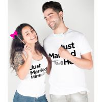 Samarretes duo Just married