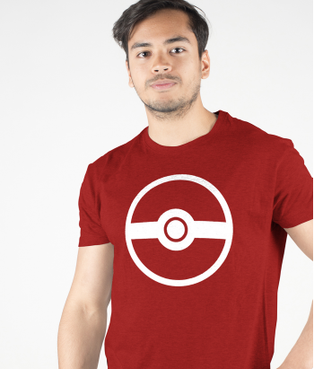 T-shirt logo Pokemon GO