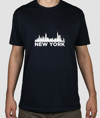 Camiseta skyline New York
