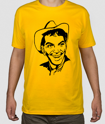 T-shirt cinema retrato Cantinflas