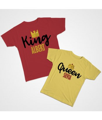 Partnershirt King and Queen