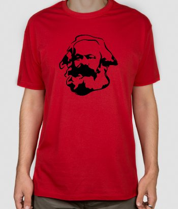 Camiseta original retrato Karl Marx
