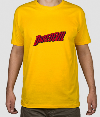 T-shirt supereroi logo Daredevil