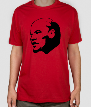 Camiseta original retrato Lenin