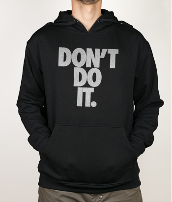 Camiseta divertida Don't do it