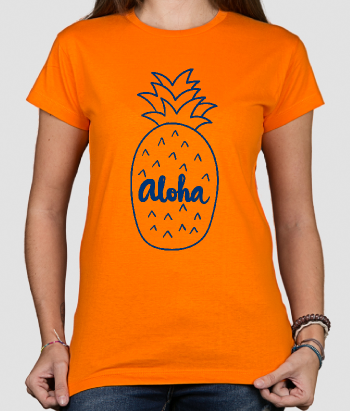 Camiseta Aloha tropical