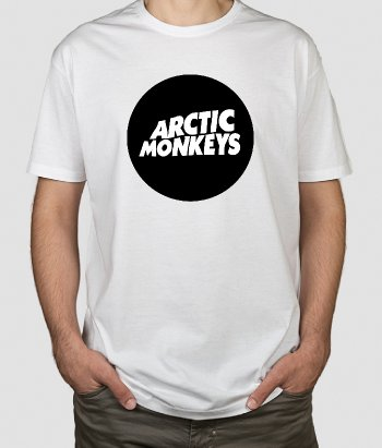 Camiseta música Arctic Monkeys