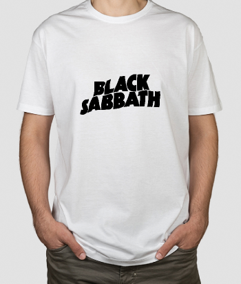 T-shirt musica Black Sabbath