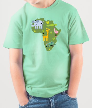 Savannah Animals Children's Shirt