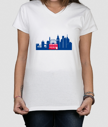 T-Shirt Skyline London Bus