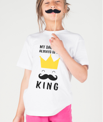 T-Shirt Dad is King