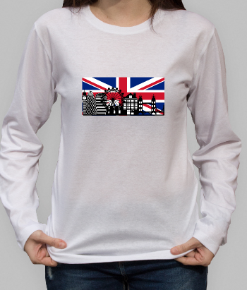 T-Shirt London Skyline