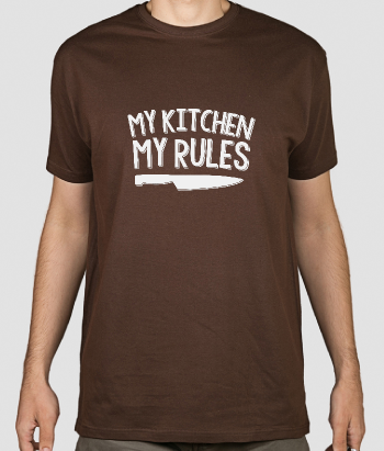 T-shirt divertente my Kitchen
