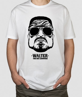 T-shirt film The Big Lebowski Walter
