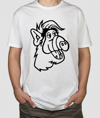 Camiseta retro Alf