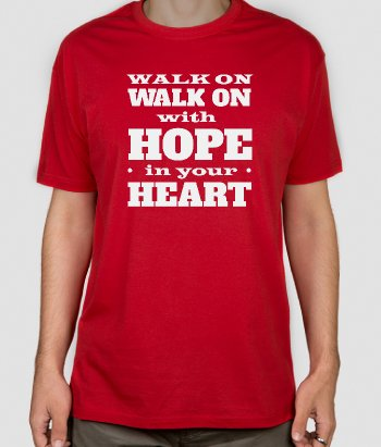 Liverpool Walk On Anthem T-shirt