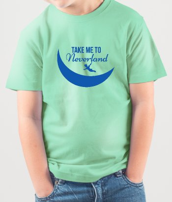Camisola infantil Take me to Neverland