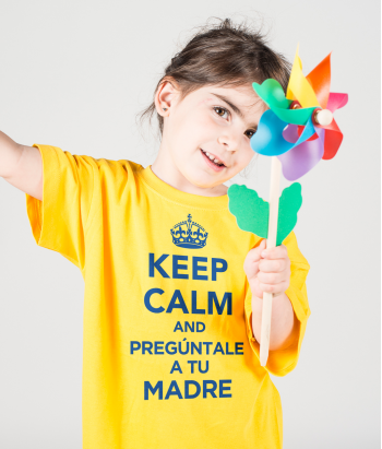 Camiseta día de la madre Keep Calm