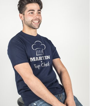 Personalised Top Chef T-Shirt
