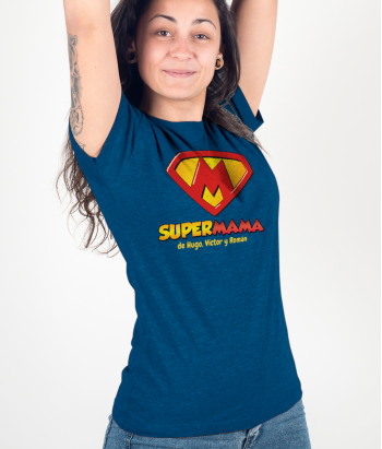 Camiseta personalizable Supermamá