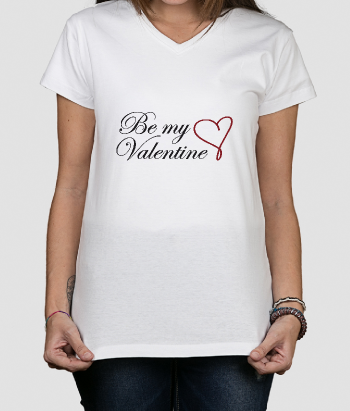 T-shirt Be my Valentine