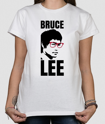 Camiseta divertida Bruce Lee