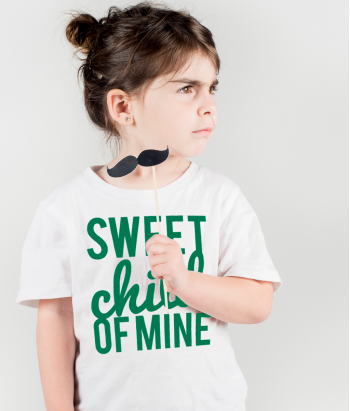 Camisola infantil Sweet child of mine