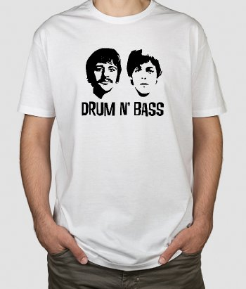 T-shirt música Drum n Bass