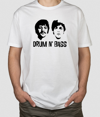Camiseta música Drum n Bass