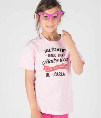 Camiseta divertida madre loca