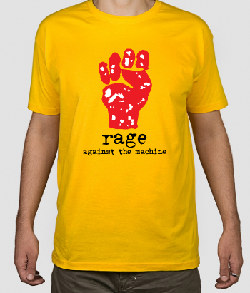 Camiseta Rage Againts the Machine