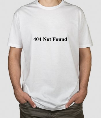 T-Shirt 404 Not Found