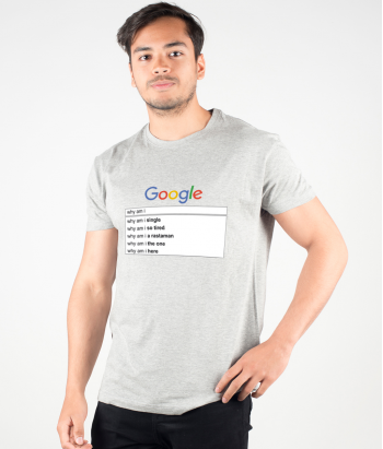 Camisola divertida busca no google