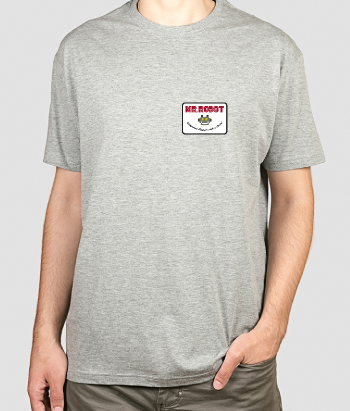 T-shirt Badge Mr. Robot