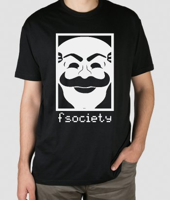 T-shirt Mr. Robot Fsociety