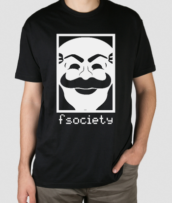 T-shirt serie F Society