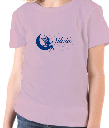 Personalised fairy t-shirt