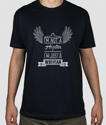 Camiseta Whovian hipster