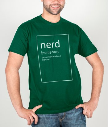 lustiges T-Shirt Definition Nerd