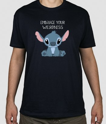 Camiseta Embrace your weirdness