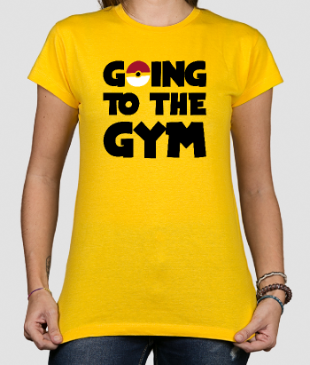 Camiseta divertida Going to the gym