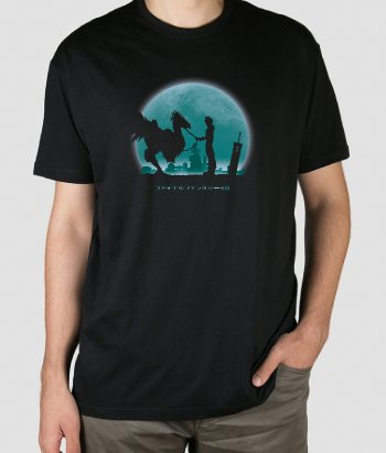 Camiseta Midgar at night