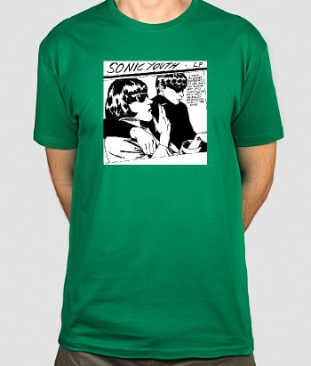 T-shirt musica Sonic Youth
