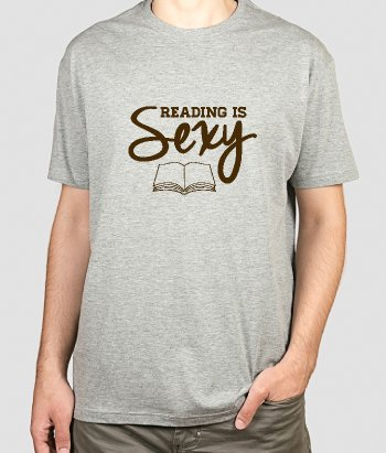 T-Shirt Reading is sexy