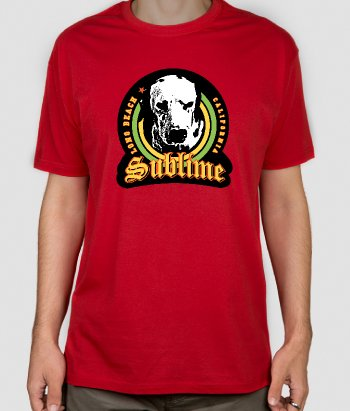 T-shirt musica cane Sublime