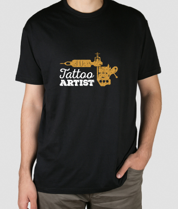 Camiseta logo Tattoo Artist