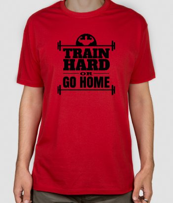 T-shirt Fitness Train Hard