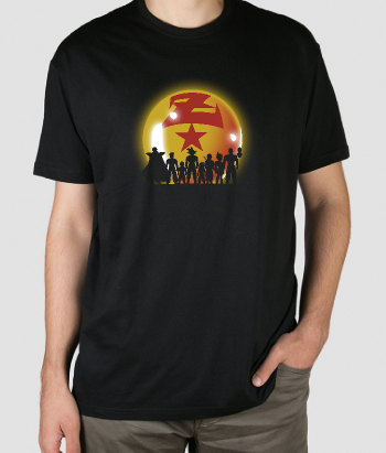 Camiseta Z Warriors